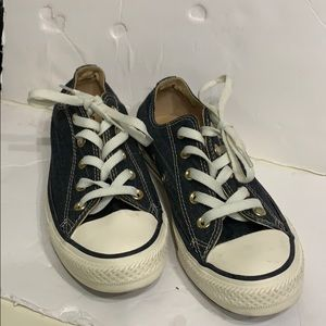 CONVERSE ALL STARS TEXTILE SNEAKERS SIZE 6